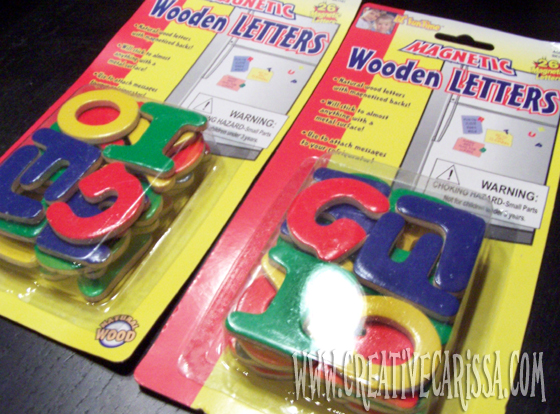 Magnetic Alphabet Letters Dollar Tree