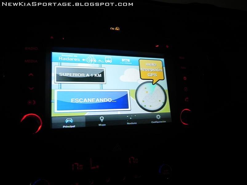 Aplicaciones del iPhone en la pantalla del Navegador