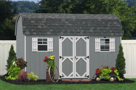 buy prefab wooden sheds in maryland and delaware - Garden Sheds Ny