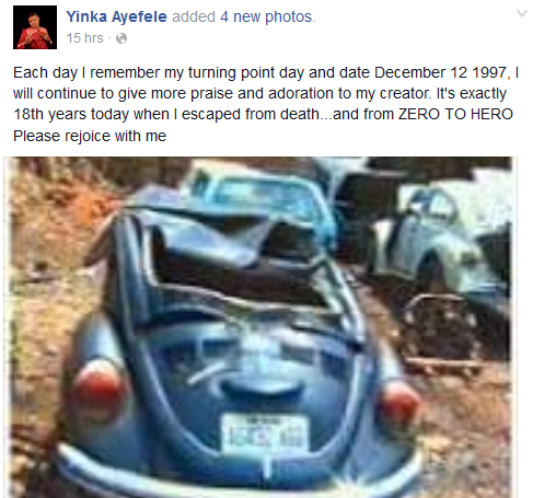Ayefele marks 18 years anniversary of accident that claimed his legs