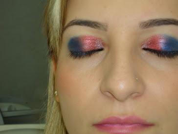 maquiagem linda!!!!