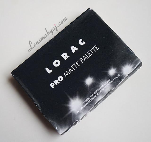 Lorac Pro Matte palet