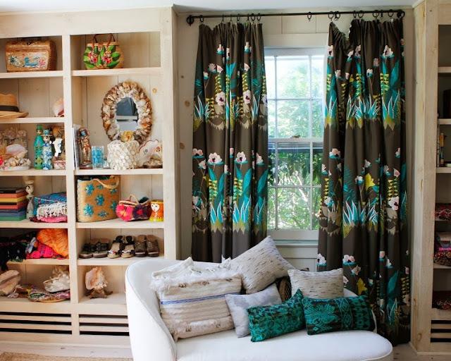 amagansett, athena calderone, beach house, chandelier, Déco, déco bohème, nanette lepore, New York, surf shack, vintage,