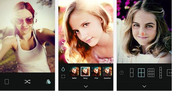 Aplikasi kamera android khusus untuk selfie