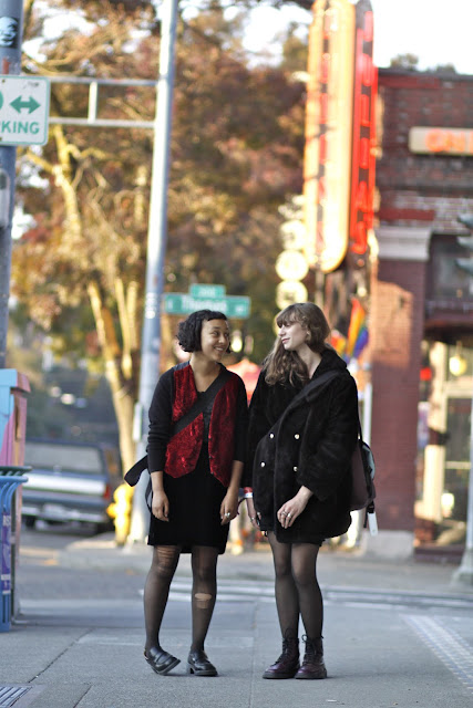 Salom Thompson Maya Dorje Broadway Seattle street style