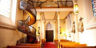 l 39 trange escalier de la chapelle loretto communaut francophone paranormal. Black Bedroom Furniture Sets. Home Design Ideas