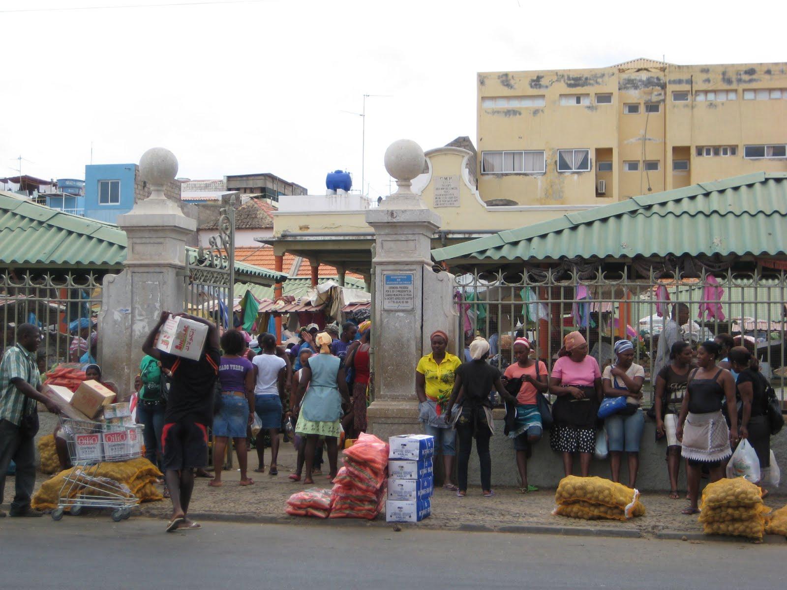 The Market in Praia, Cape Verde