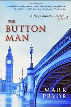 French Village Diaries book review The Button Man Hugo Marston novel Mark Pryor Paris