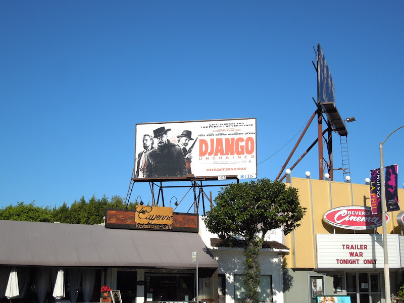 Django Unchained billboard