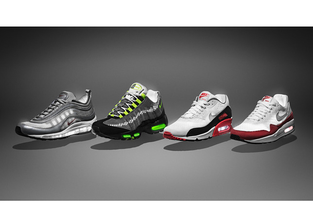 finest selection 68d8a c3020 NIKE S CLASSICS  Nike Air Max 1, 90, 95 and 97 for 2013