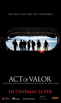 Act of Valor 2012 film movie poster