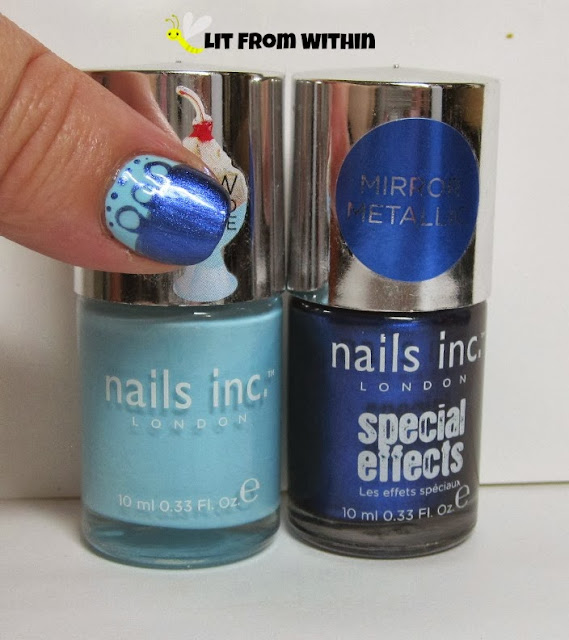 bottle shot:  Nails, Inc Chelsea Physic Garden and Primrose Park