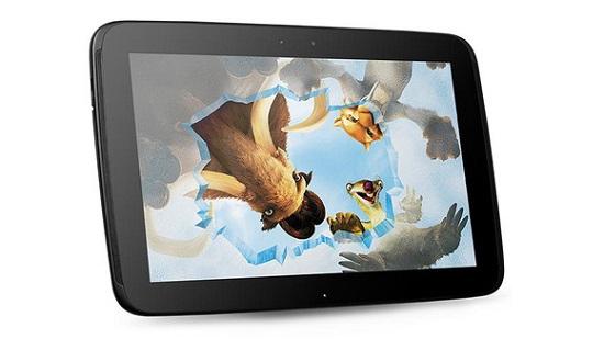 top 10 tablets 2013 google nexus 10