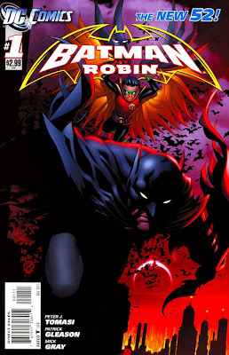 Batman and Robin Issue #1 Cover Artwork