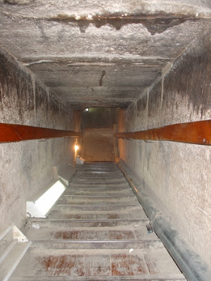 Passage inside the North Pyramid