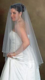 cage veil wedding