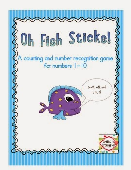 http://www.teacherspayteachers.com/Product/Oh-Fish-Sticks-Practicing-numbers-1-10-864463