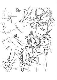 Dibujos de Tinkerbell para Pintar, parte 4