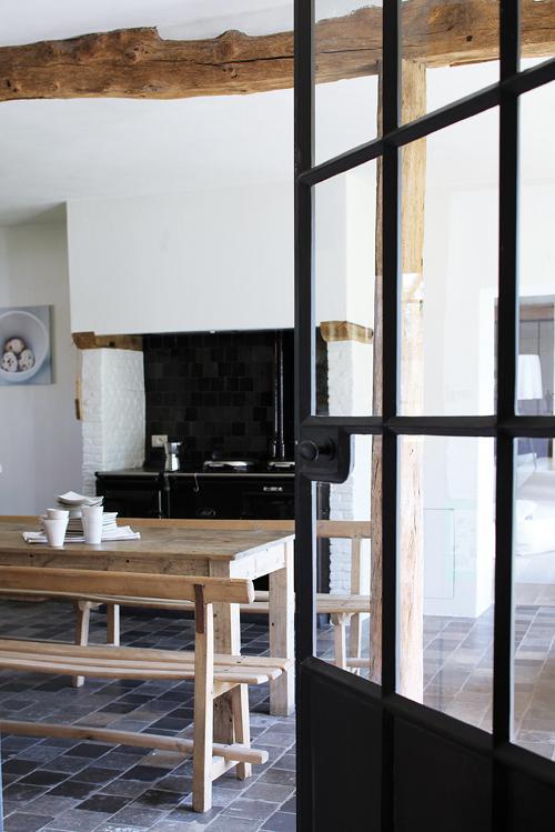 keuken antraciet mat: tegels antraciet keuken: washable vinyl, Deco ideeën