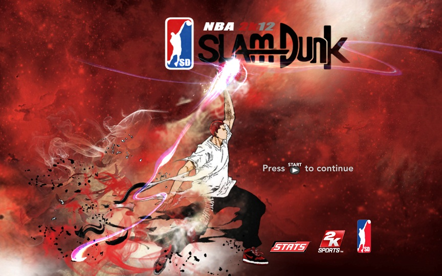 NBA 2K12 My Player Mode Hanamichi Sakuragi Patch