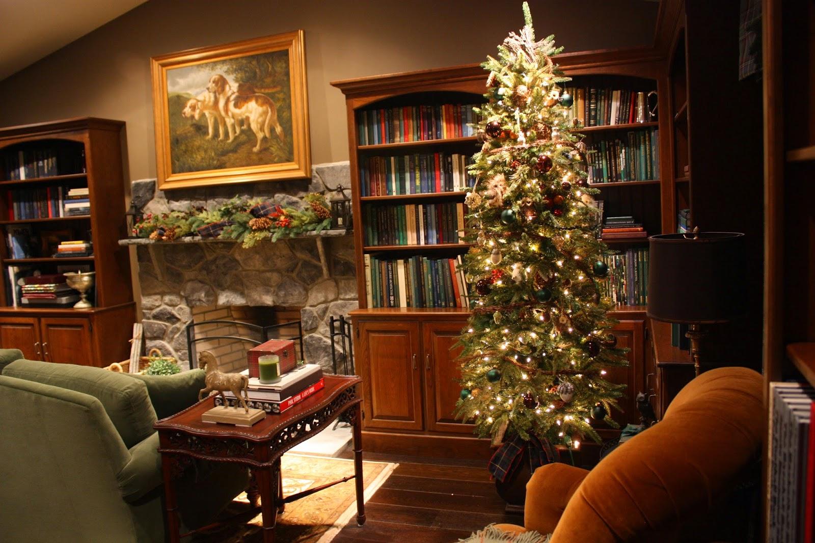 Masculine Christmas Tree lee's hideaway: tis the season