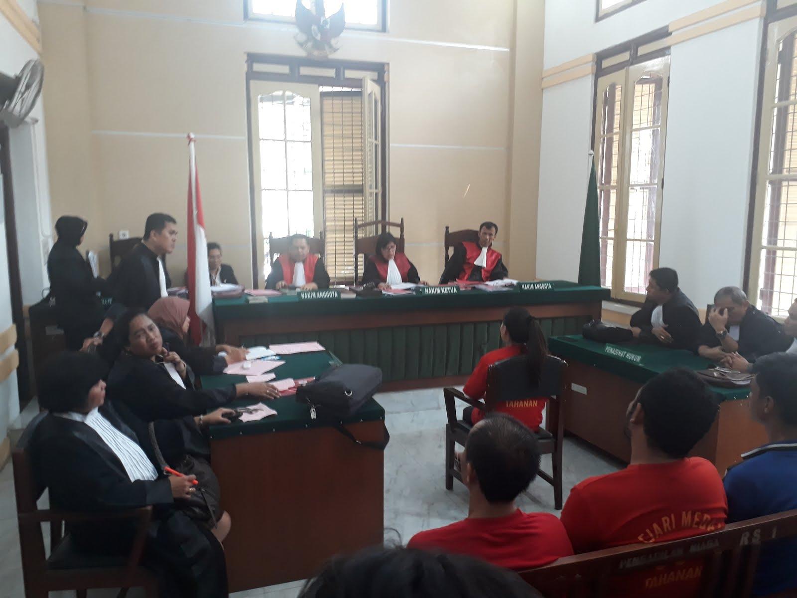 Elyana Divonis 9 Bulan Penjara, PH Terdakwa : Putusan Hakim Tak Sesuai Fakta Persidangan Minta Banding