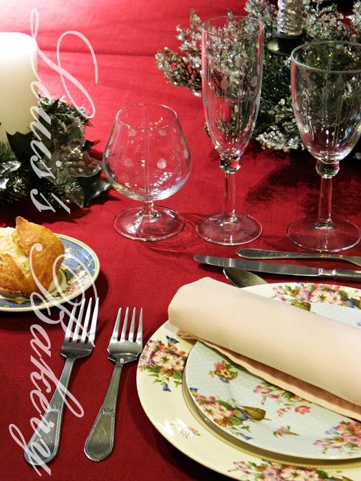 Louis 39 s bakery como poner la mesa de navidad protocolo - Como poner la mesa en navidad ...