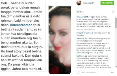 Maria Farida Didakwa Rampas Suami Kawan Sendiri?
