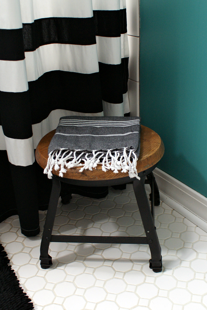 Industrial Style Step Stool