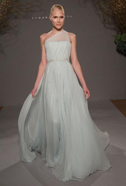 Formal Wedding Dresses Fashion One Shoulder Taffeta A