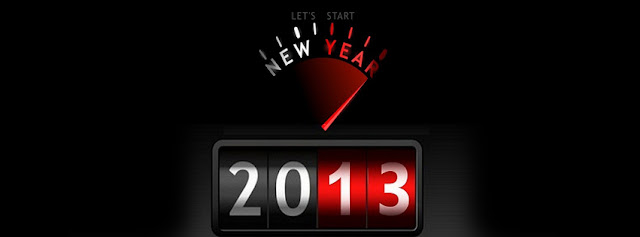 Red And White Meter Reading Of New Year