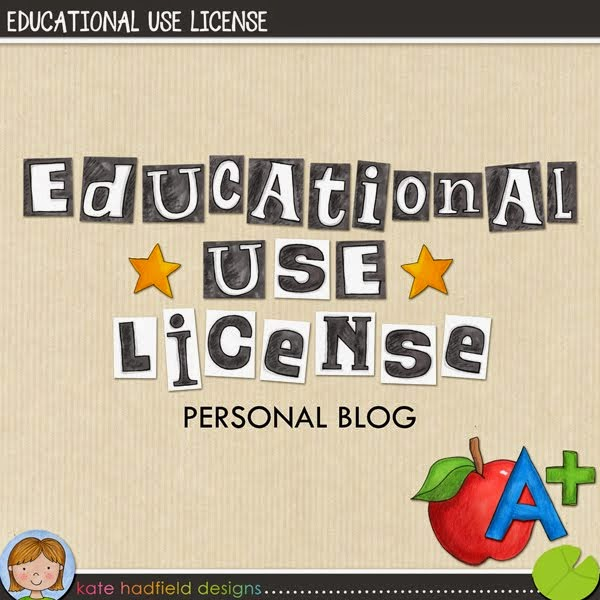 Educational use license