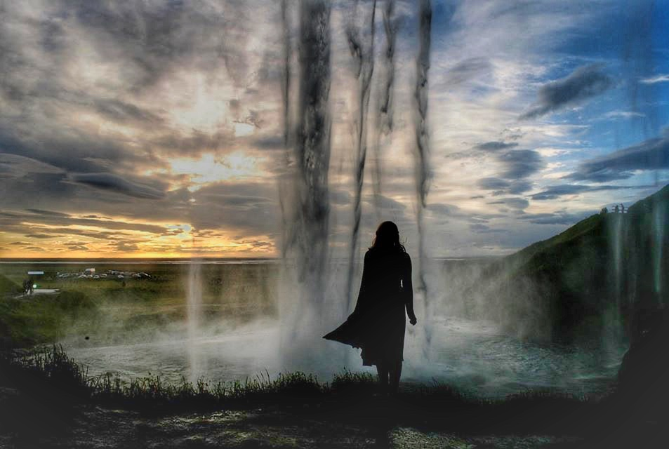 Things to do in Reykjavik Iceland : Seljalandsfoss Waterfall in Southern Iceland