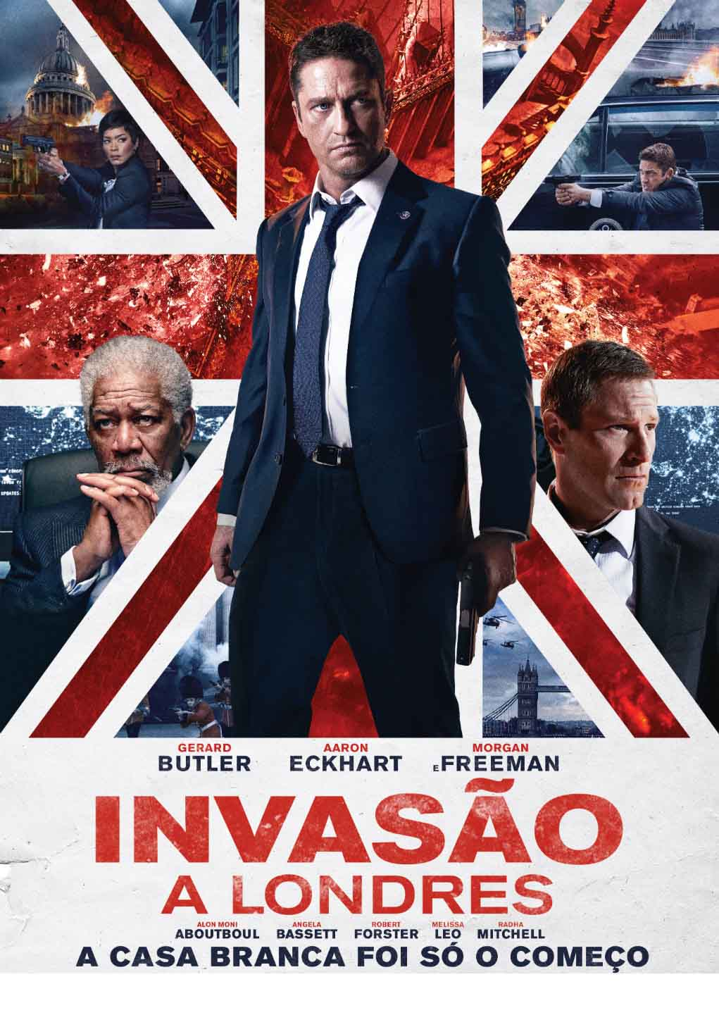 Invasão a Londres Torrent - HDRip Legendado (2016)