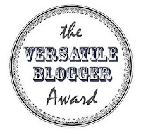 Versatile Blogger Award Winner