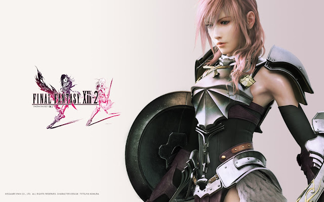 final fantasy 13-2 square enix jrpg japanese role playing game