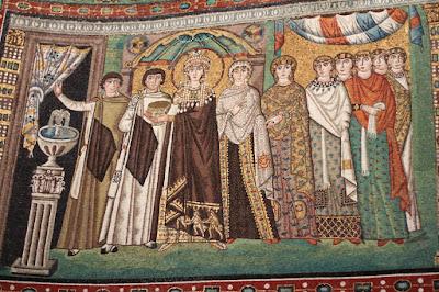 Basilica San Vitale - The Theodora Panel