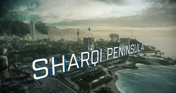 Battlefield 3 - Peninsula de Sharqi