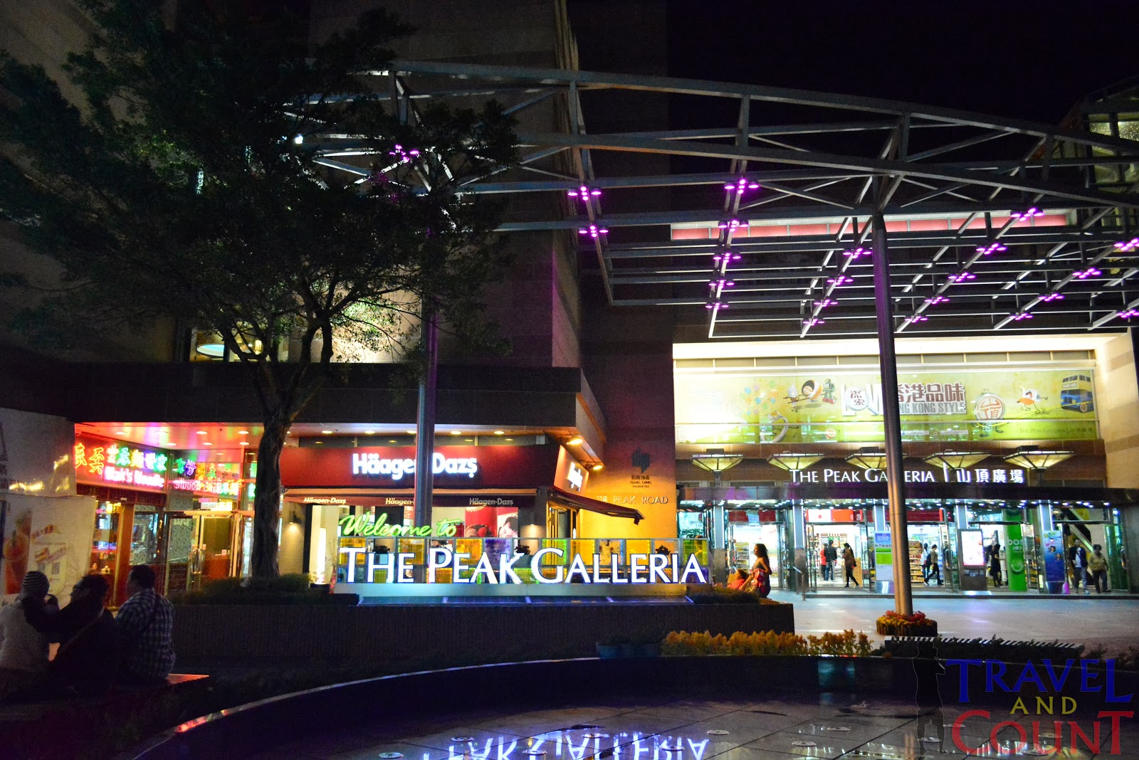 The Peak Galleria Hong Kong