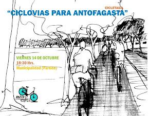 """""""Ciclovías para Antofagasta"""""""