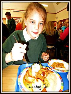 school dinner, roast dinner, school
