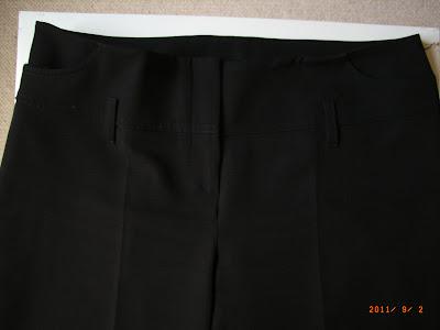 TARA JARMON – Pantalon noir coupe droite – T42 – NEUF