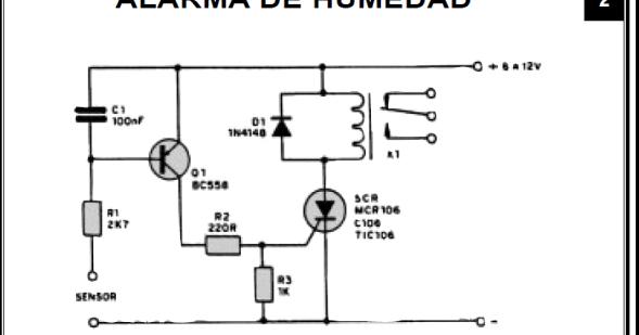 fichas de circuitos electr u00f3nicos  ficha t u00c9cnica alarma de