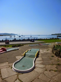 Crazy Golf course in Millport on the Isle of Cumbrae, Scotland
