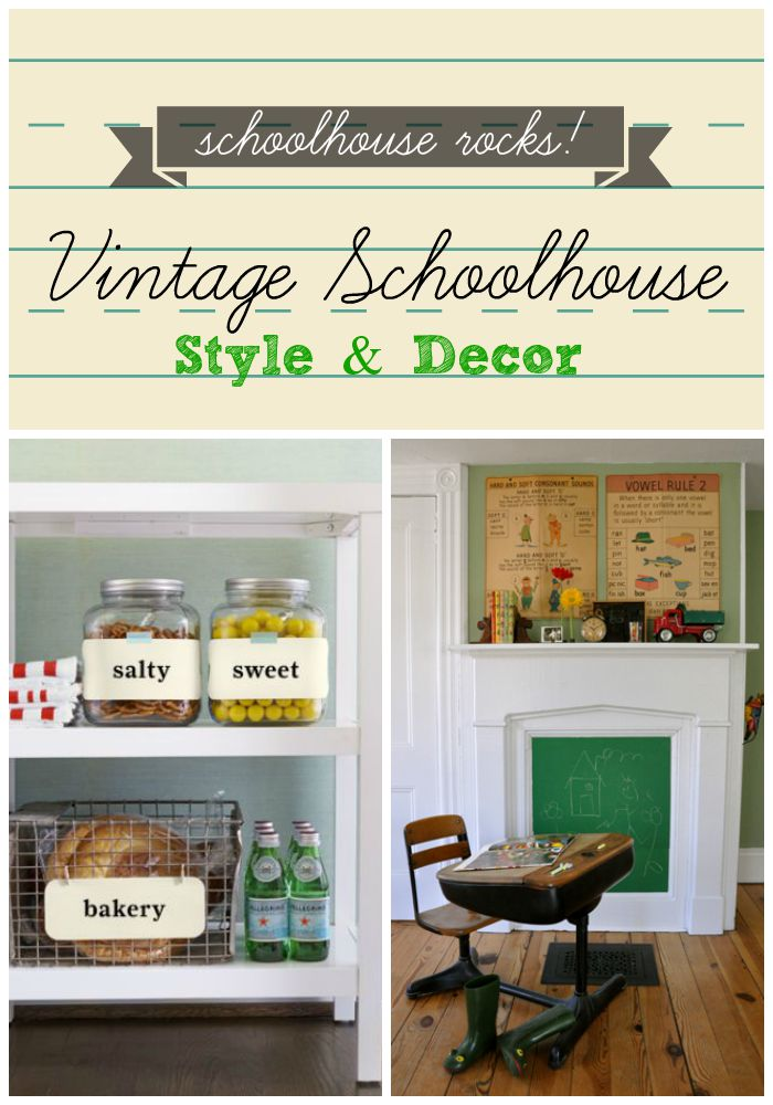 School Inspired Vintage Decor Ideas That Will Move You To The Head Of Class