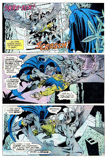 Man-Bat v1 #1 dc 1970s batman comic book page art by Steve Ditko