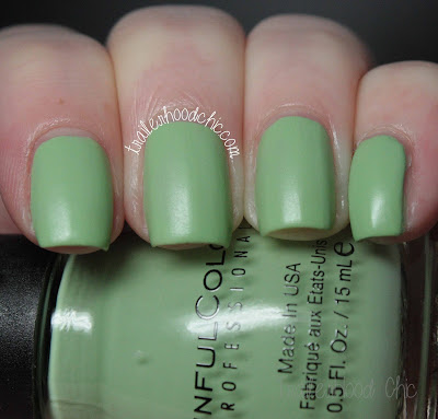 sinful colors a class act swatch review chalk it up