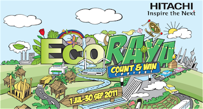 Hitachi 'Eco Raya' Contest