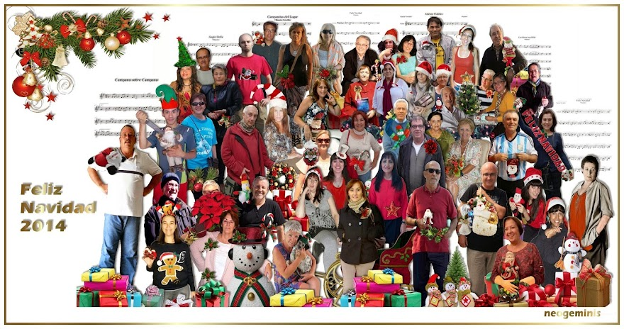 Navidad  juevera 2014, gracias Neogéminis.