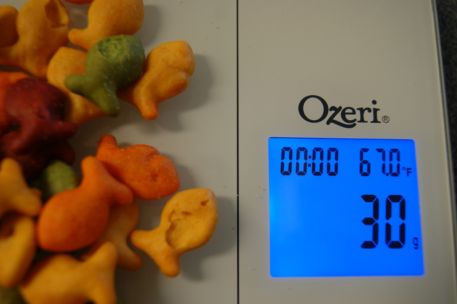 Andrea 39 s world reviews ozeri digital kitchen scale review for How much is a kitchen scale